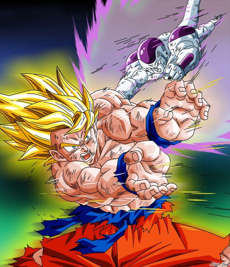 Goku VS Freezer III by Niiii-Link.deviantart.com on @DeviantArt