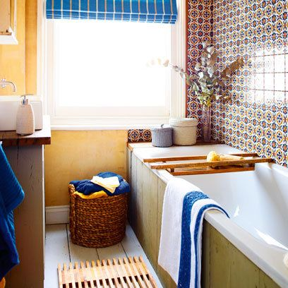 Bright Mediterranean Style Bathroom | Decorating Ideas | Interiors |  Redonline.co.uk Part 75