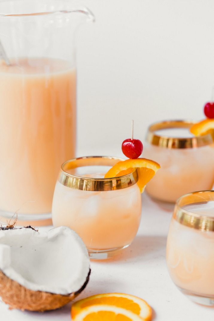 Pitcher Party Drink Recipe with Rum