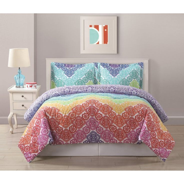 Bed Threads Lace Chevron Comforter Set - CS9717