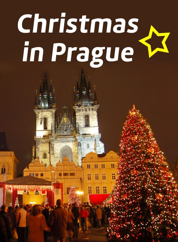 Special Christmas time in Prague, Czech Republic: Christmas markets and many other winter activities!