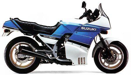 #suzuki gsx 750 ef 1986