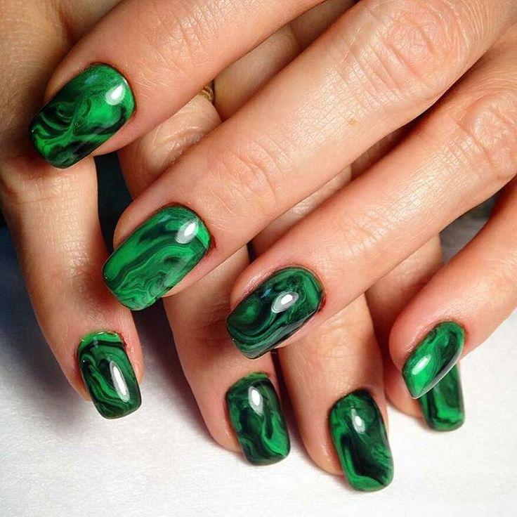 80 best Green nails images on Pinterest   Nail art designs, Autumn ...