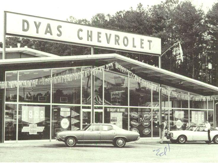 1968 Dyas Chevrolet Dealership, Auburn, Alabama