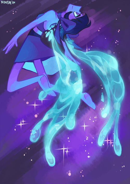 "Steven Universe New Episode ""Lapis Lazuli, Mirror Gem"" aw I loved this episode Credit goes to original Artist"