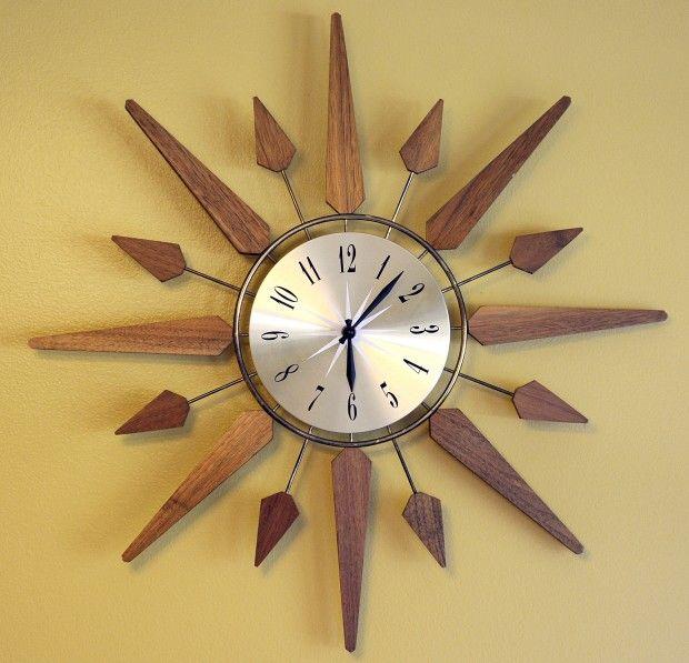 46 best Vintage Starburst clocks images on Pinterest | Vintage ...