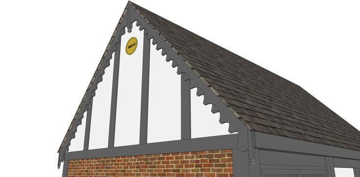 Garage proposal A - Ketteringham, Norfolk -  Image lll