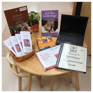 setting up a spot for parents to gain more knowledge