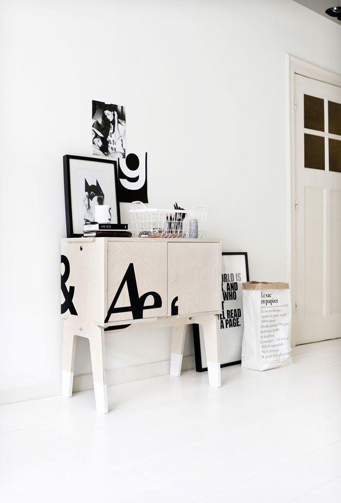Piet Hein Eek cabinet design by My Deer for 101 Karakters