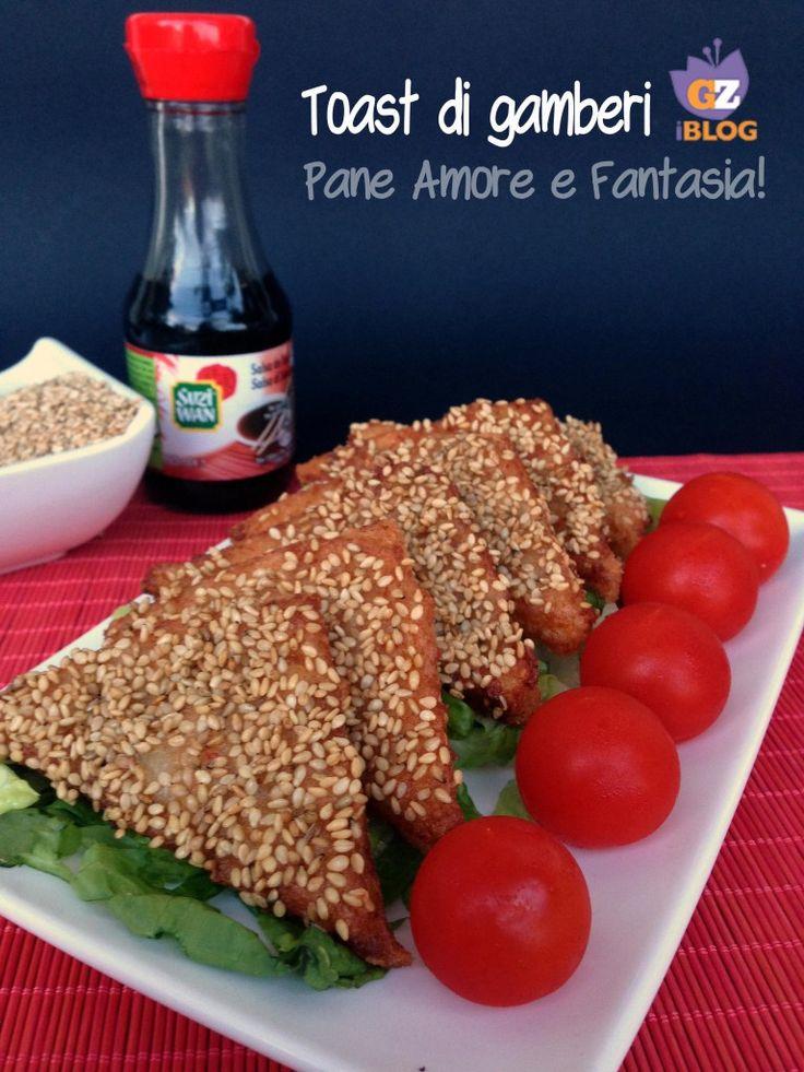 Toast di gamberi cinesi - ricetta | Pane Amore e Fantasia!