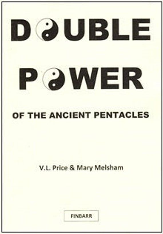 DOUBLE POWER OF THE ANCIENT PENTACLES Finbarr Black Magic Witchcraft Occult