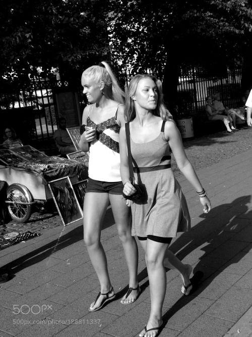 Silke Heydrich and Gunnila Von Richthofen by...