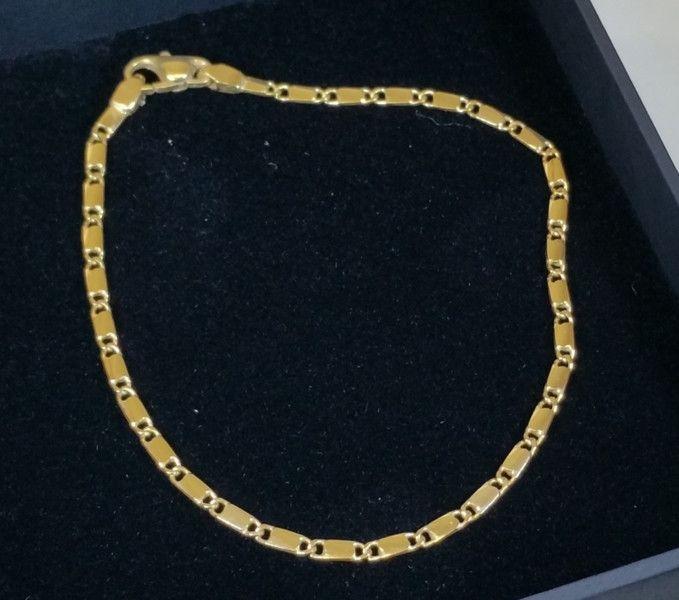 Vintage Armschmuck - Gliederarmband Gold 333 Armband Vintage alt GA101 - ein Designerstück von Atelier-Regina bei DaWanda