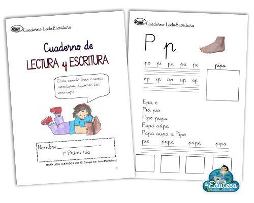 La Eduteca: RECURSOS PRIMARIA | Cuadernos de Lectura y escritura I