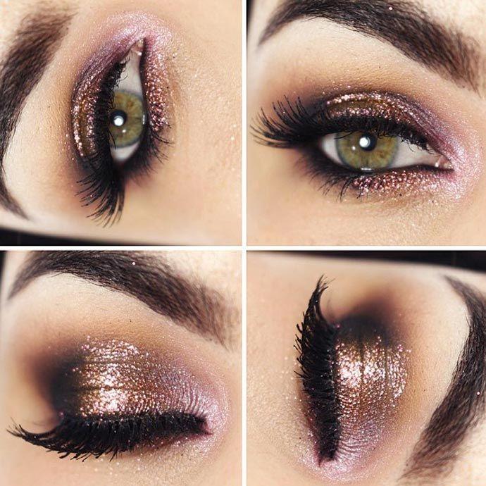 Tutorial – maquiagem romântica cobre e rosa