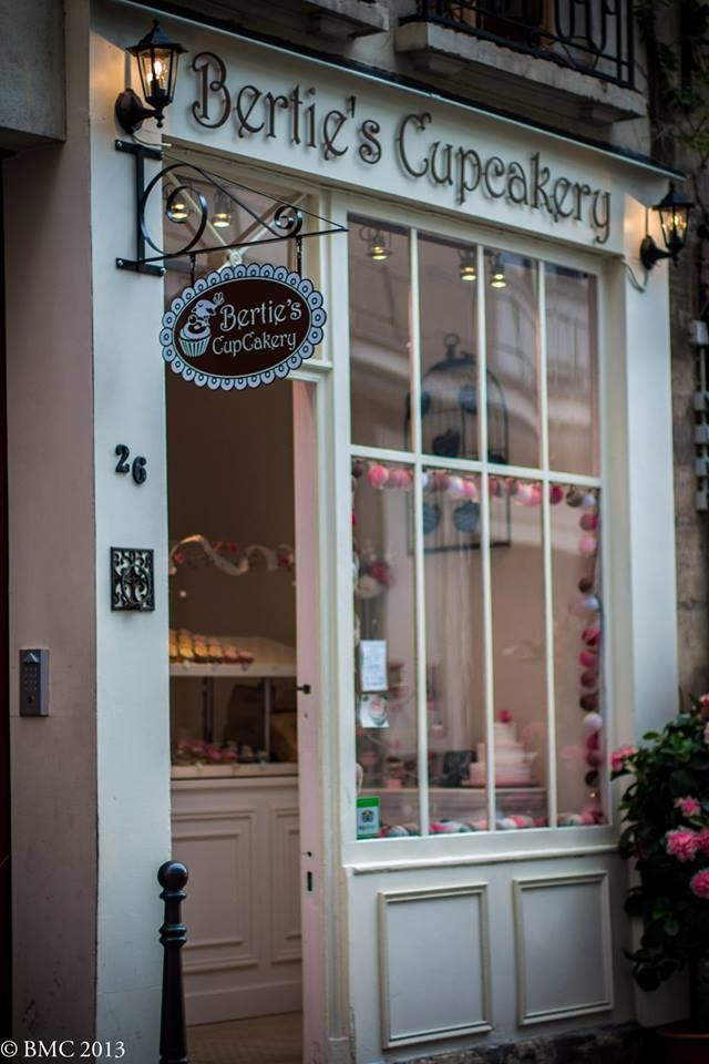Bertie's Cupcakery ~ Paris