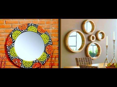 Как украсить зеркало Идеи украшения и декора зеркала своими руками