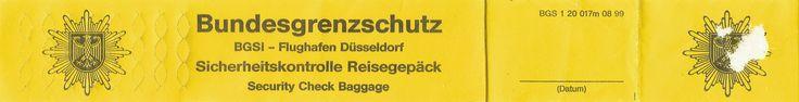 """Flughafen Düsseldorf, Sommer 2002: Bedauerlich, daß ein Vater die Sorgen seiner Tochter ausschließlich dafür auszunutzen vermag, um ihm ein Ei zu legen, das letztendlich im eigenen Nest gelandet ist! Man muß schon arg verzweifelt sein, wenn man aufgrund eigener Unfähigkeit keinen anderen Ausweg mehr sieht, als den eigenen Schwiegersohn zu vergiften! Ob er sich das bei meinem Großvater auch gewagt hätte? Ich glaube kaum. Aufklärung statt """"Schengen"""" wäre damals die einzig richtige Antwort…"""