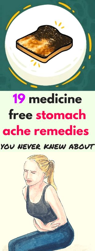 19 medicine free stomach ache remedies you never knew about