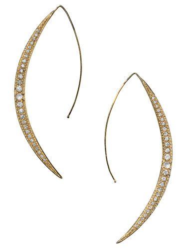 BAZAAR Beauty Director Alexandra Parnass's Fall Wish List - Simple Jewelry: Mizuki earrings