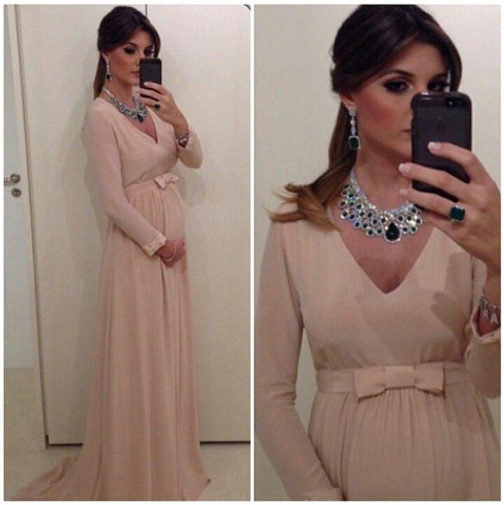 Vestido de festas para grávida.  Maria Rudge
