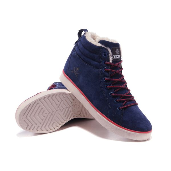 Корейские мужская обувь прилив диких мужская повседневная обувь спорт плоских туфли зимней теплый плюшевый хлопок мягкой обувь мужчина
