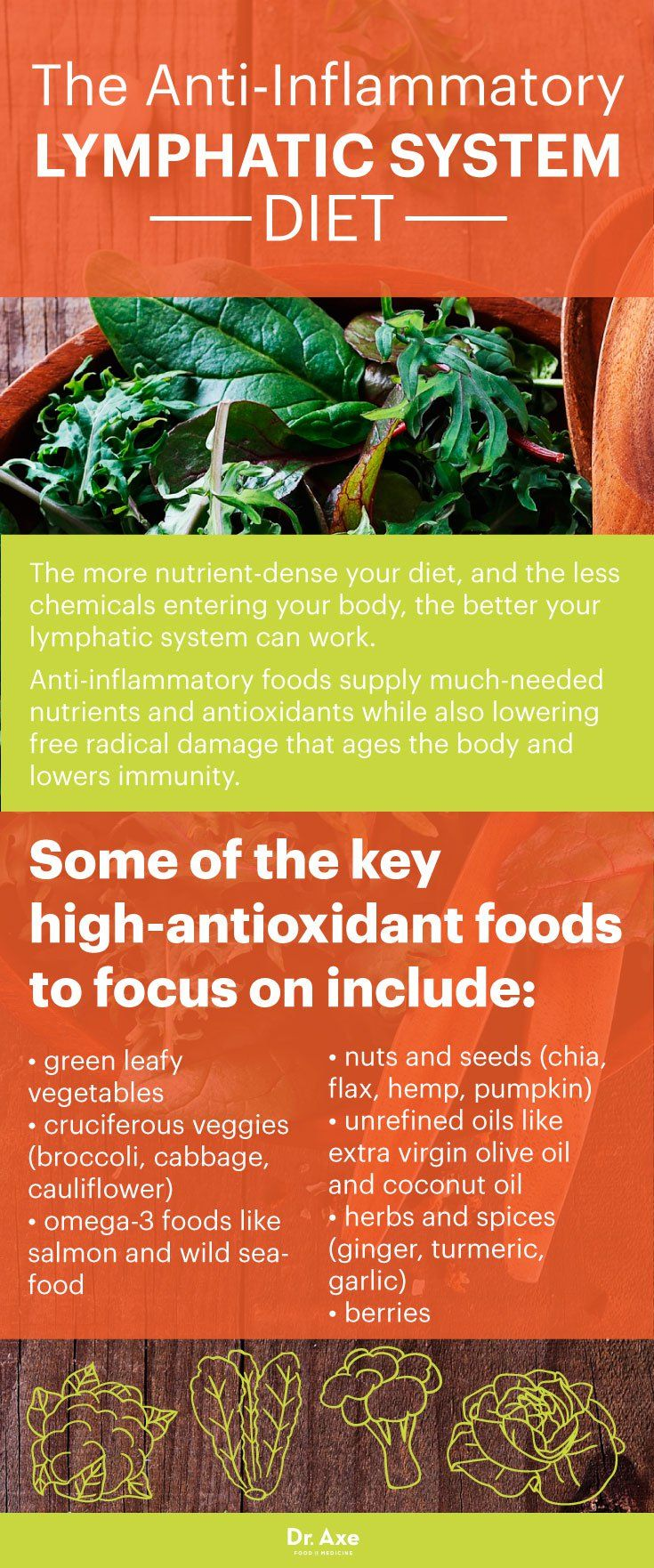 Lymphatic system diet - Dr. Axe