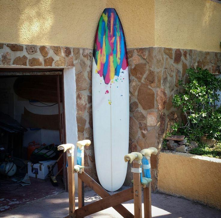 Longboard laminado