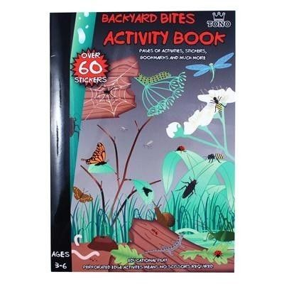 Backyard Bites Activity Book - White Apple Gifts