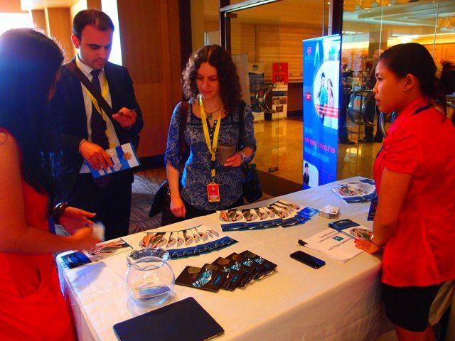 Event NESU Smart Phone Card Indonesia@ BALI FIDIC ASPAC