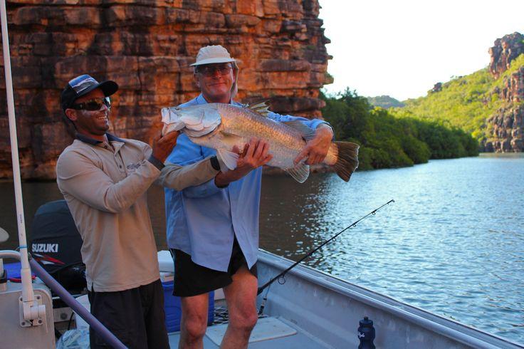 What a catch, Kimberley barramundi!  #fishing #fish #whatacatch #luxurytravel #adventure #cruise #barramundi