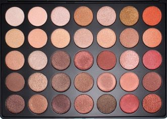 Morphe 350S Shimmer Eyeshadow Palette-- I literally need this in my life brb going to go order it
