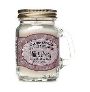 The Gecko Shack - Milk & Honey soy blend mini mason jar candle - smells amazing..!