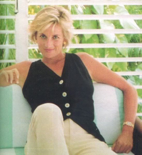 Princess Diana in Barbuda.