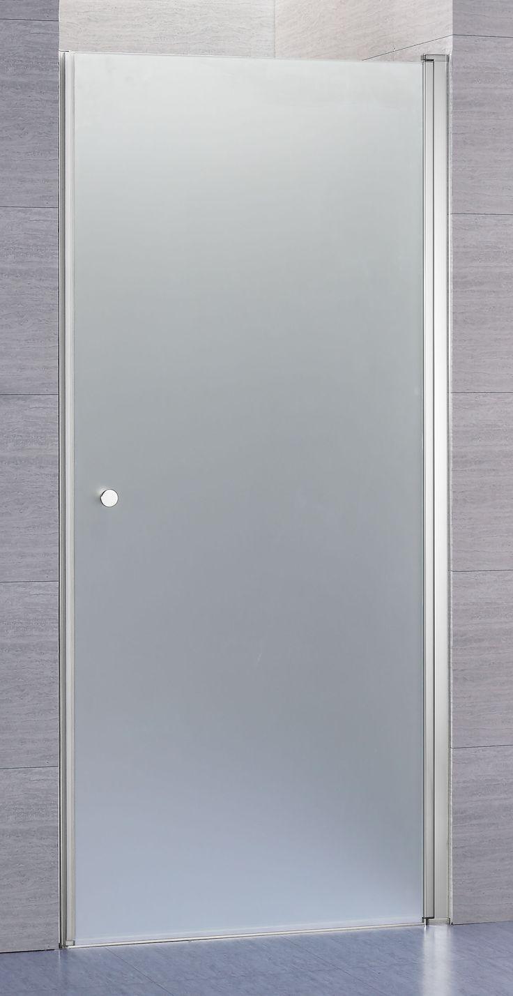 Lusso duschdörr rak med frostat glas | Alterna badrum | Dusch och ...