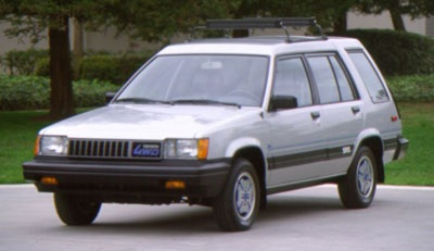 1985 Toyota Tercel 4x4! Mines like this except with a big sound system