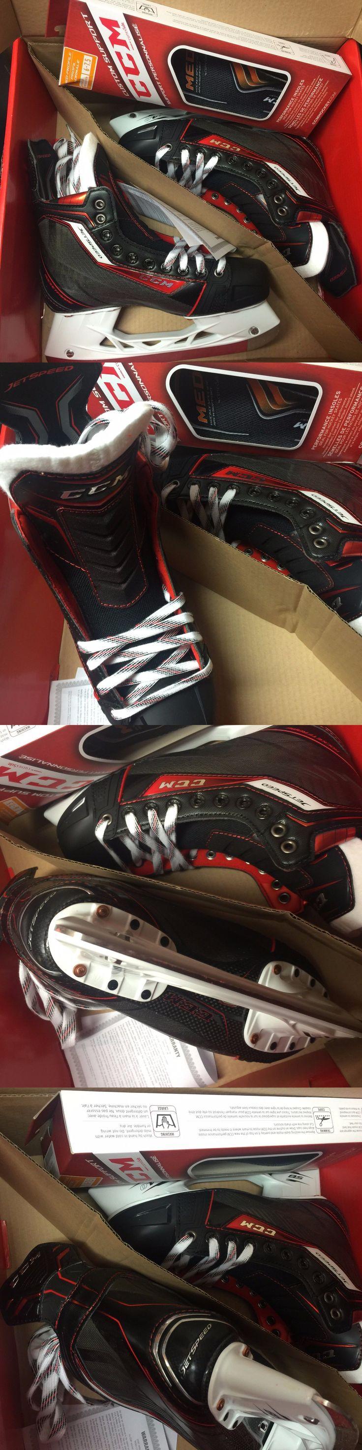 Ice Hockey-Adult 20858: Ccm Jetspeed Senior Ice Hockey Skates BUY IT NOW ONLY: $499.95