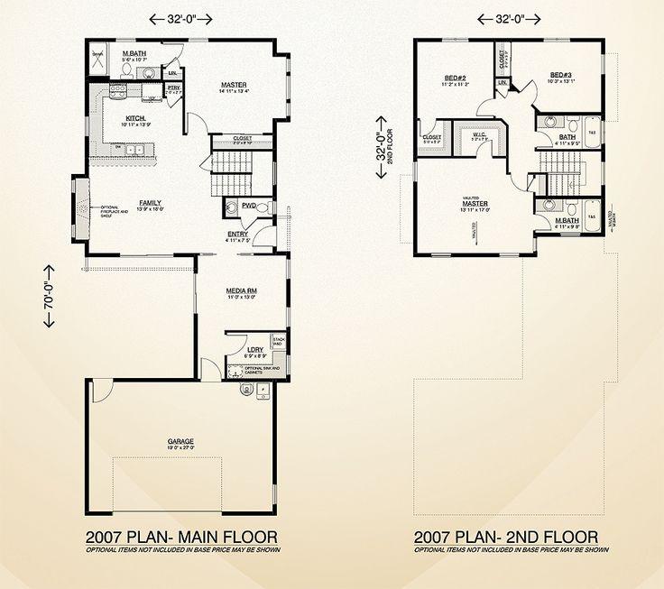 19 best multi level homes images on pinterest floor for Multi level home floor plans