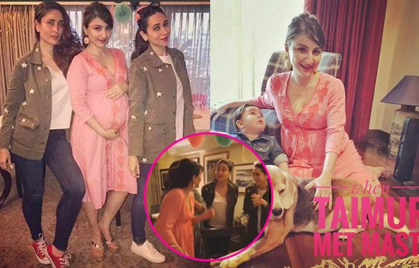 This inside video of Soha Ali Khan's baby shower with Kareena Kapoor Khan and Karisma Kapoor is going viral #FansnStars