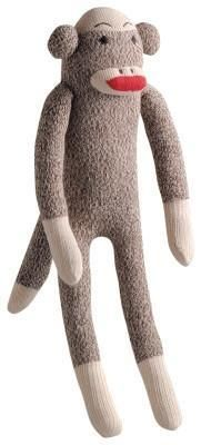 "Sock Pals Monkey - 10"" Small"
