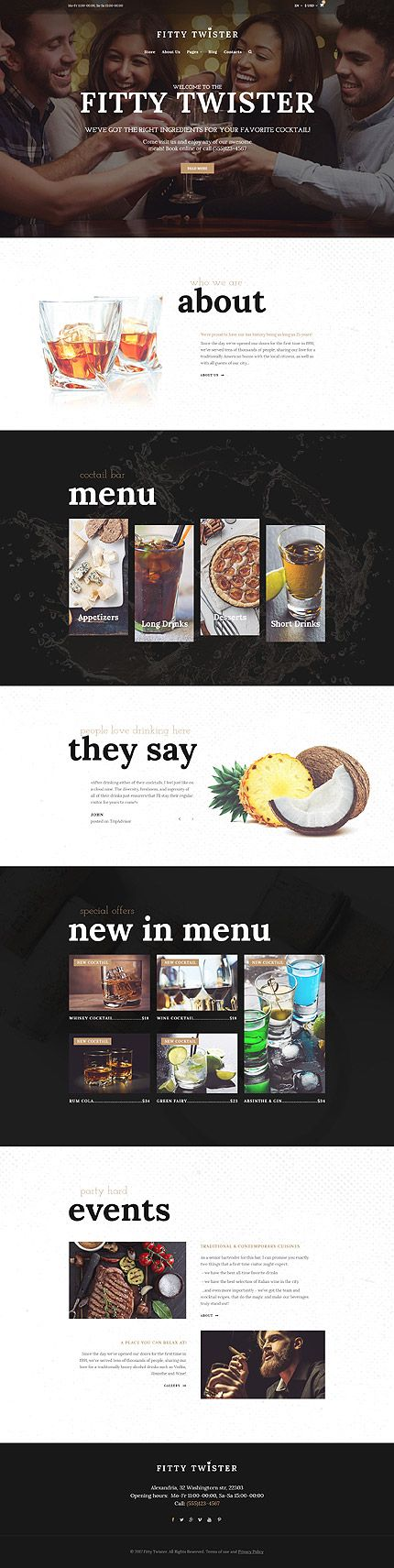 Cafe and Restaurant Most Popular website inspirations at your coffee break? Browse for more Joomla #templates! // Regular price: $69 // Sources available: .PSD, .PHP #Cafe and Restaurant #Most Popular #Joomla