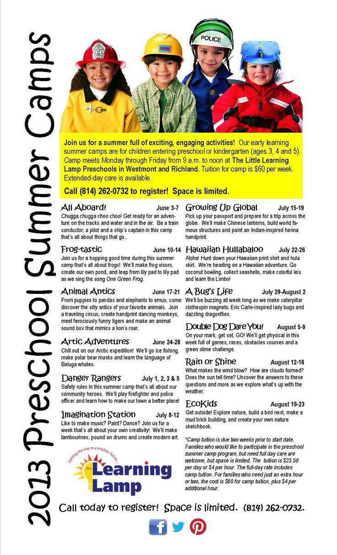 Day Camp Themes - august neverland summer camp preschool kindergarten ...