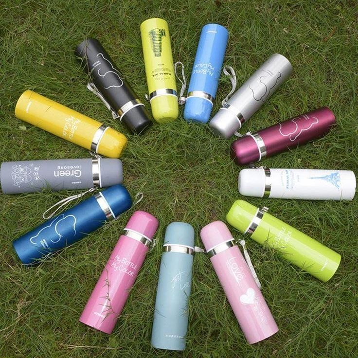 Hot Thermal Water Bottle Stainless Steel Thermal Insulation Flask Drink Cup Mug