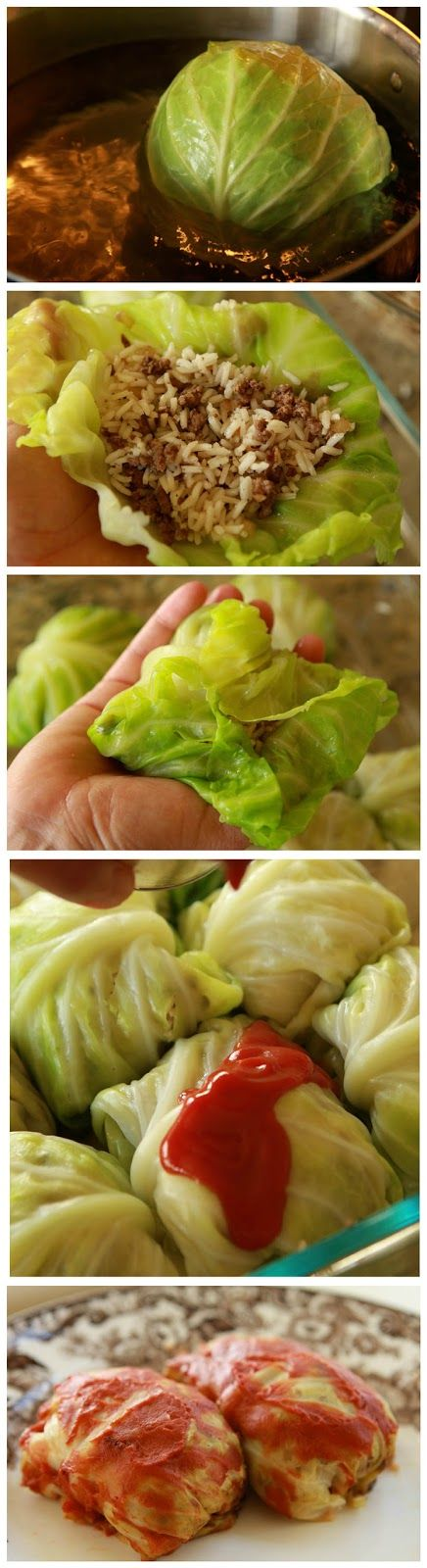 Start Recipes: Delicious Cabbage Rolls
