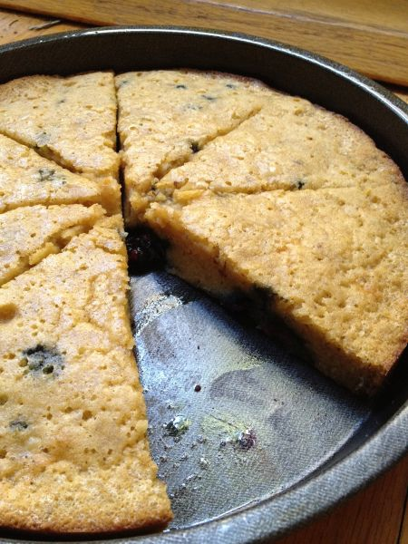 blueberry coconut flour cake - one of the best coconut flour cake recipes I have come across!