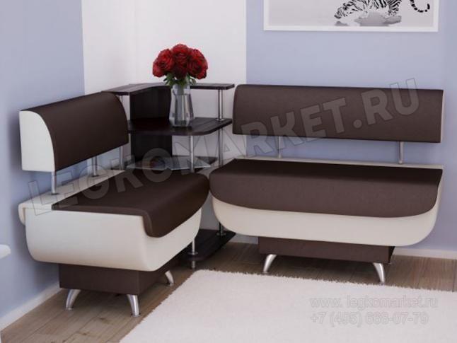 Валенсия МДФ Кухонный угловой диван, цена 15490 руб. - купить Кухонный угловой диван Валенсия МДФ в интернет магазине ЛегкоМаркет