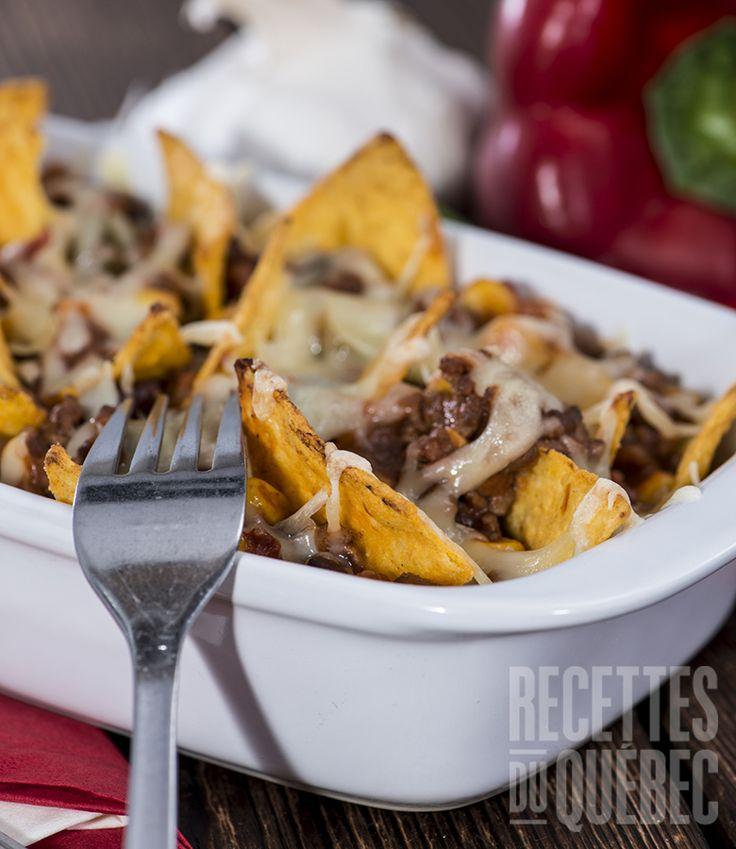 Sauce à la viande suprêmepour nachos #recettesduqc #entree #comfortfood