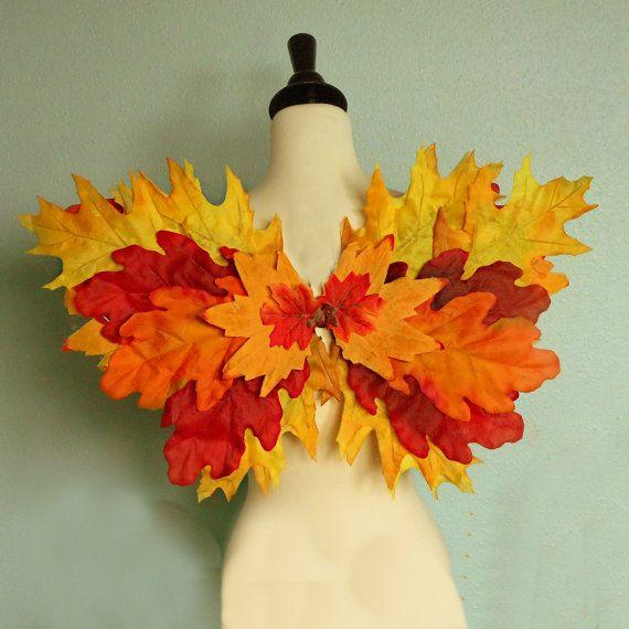 Fairy Wings  FALL WOODLAND FAIRY wings  Autumn by FairyNanaLand, $40.00