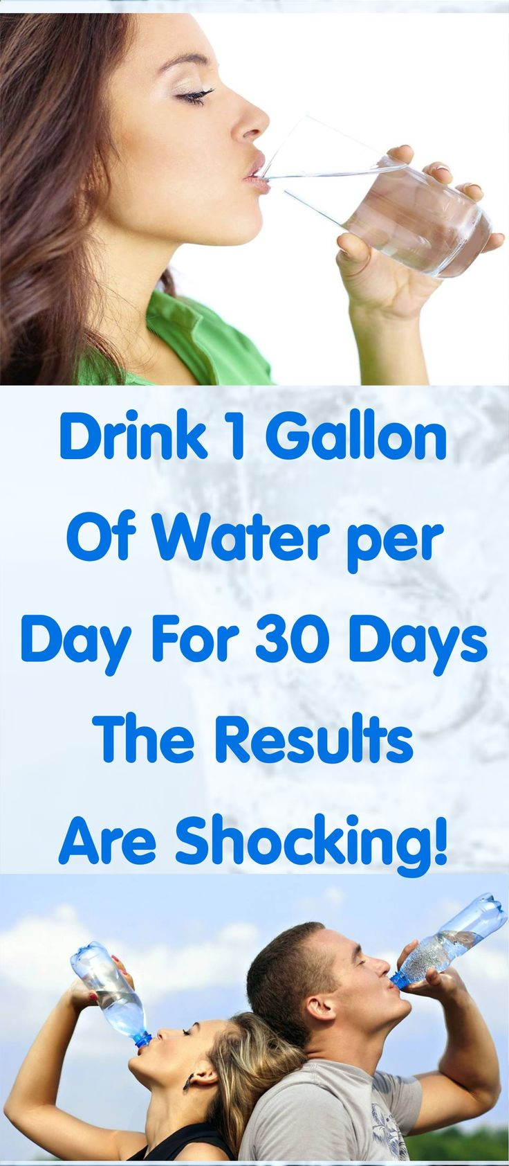 Do you know What will happen to your Body If you Decide to Drink 1 Gallon of Water for 30 days in a Row, I guess you don't So you better Check ASAP ! If you liked this Article Pin IT.