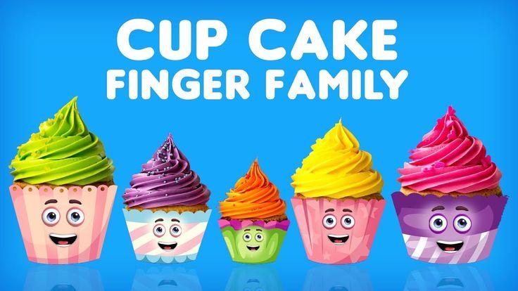 The Finger Family Cupcakes Family Nursery Rhyme | Cupcakes Finger Family Song Collection